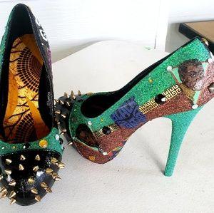 Custom made Superhero Heels